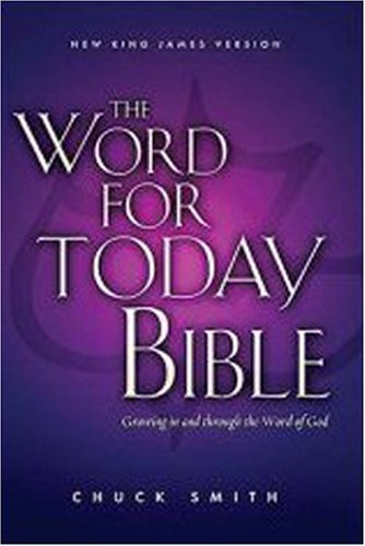 9780718015244: The Word for Today Bible - Black Leather