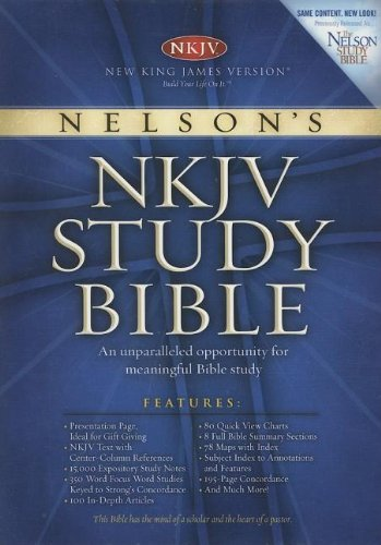 Nelson's Study Bible: New King James Version, Thumb Index (9780718015640) by [???]