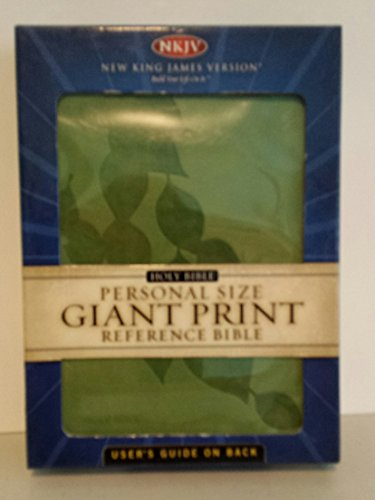 9780718016845: Personal Size Giant Print Reference Bible (NKJV, 333GC, Green LeatherSoft, Gilded-Silver Page Edges)