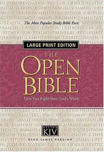 9780718018115: Open Bible: King James Version