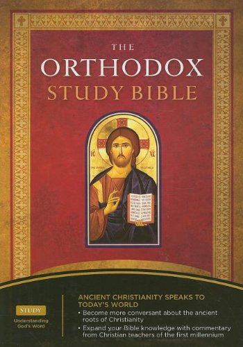 The Orthodox Study Bible: New King James Verison, Black, Bonded Leather (0718019083) by [???]