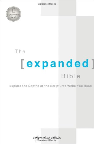 9780718019181: The Expanded Bible: Explore the Depths of Scripture While You Read