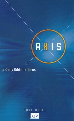 9780718019457: Axis: King James Version, Blue, A Study Bible for Teens