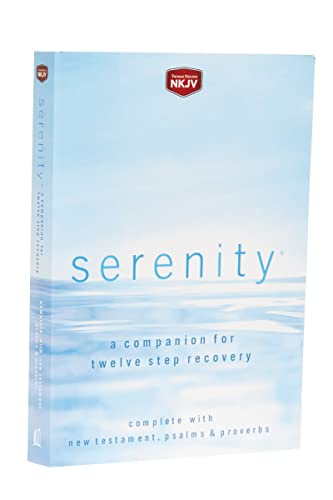 9780718019488: NKJV, Serenity, Paperback, Red Letter Edition: A Companion for Twelve Step Recovery