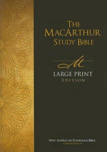 9780718020057: MacArthur Study Bible-NASB-Large Print