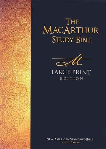 9780718020064: The MacArthur Study Bible-NASB-Large Print