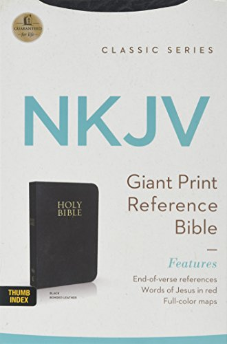 9780718020507: NKJV PS GP EOV REF BIBLE, BONDED LEATHER BLACK INDEXED