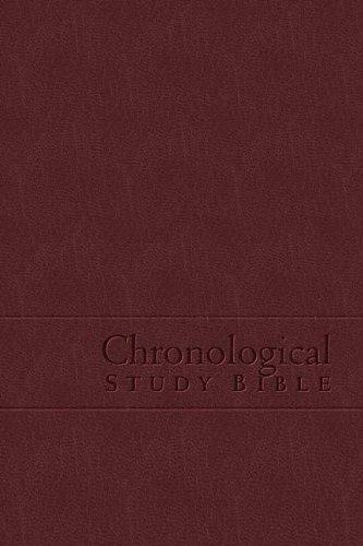 9780718020699: The Chronological Study Bible (NKJV) [Bonded Leather]