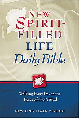 9780718020774: New Spirit-Filled Life Daily Bible: New King James Version