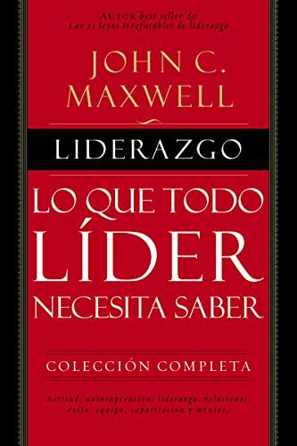 9780718021436: Liderazgo: Lo que todo líder necesita saber (Spanish Edition)