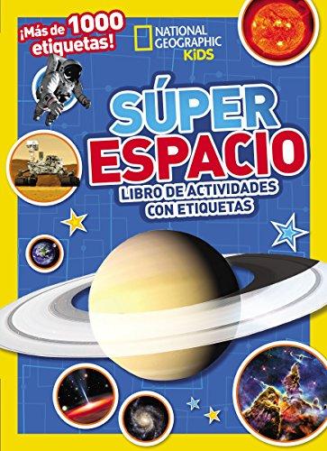 9780718021542: Súper espacio: Libro de actividades con etiquetas (Spanish Edition)