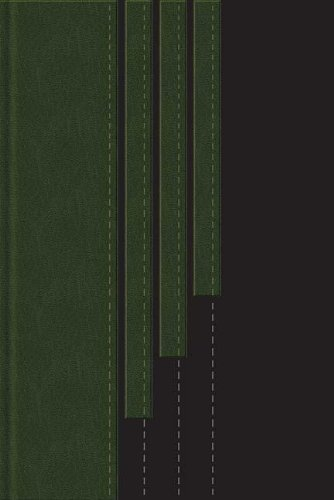 Holy Bible: New King James Version, Black/ Hunter Green Leathersoft, Reference Edition (9780718024451) by Thomas Nelson