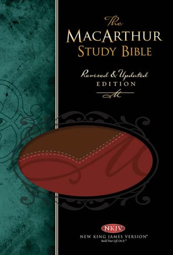 The Macarthur Study Bible New King James Version: Red Leathersoft (9780718025090) by John MacArthur