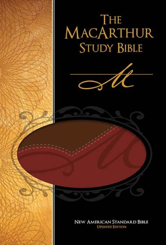 9780718025120: The MacArthur Study Bible: New American Standard Update, Red Leathersoft