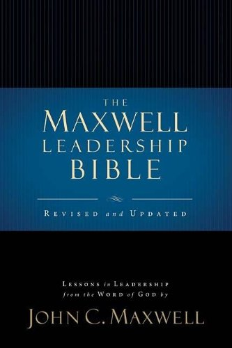9780718025274: Maxwell Leadership Bible-NKJV-Briefcase Revised & Updated