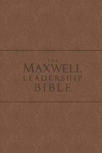 9780718025281: The Maxwell Leadership Bible New King James Version Coffee Bonded Leather: Briefcase Edition