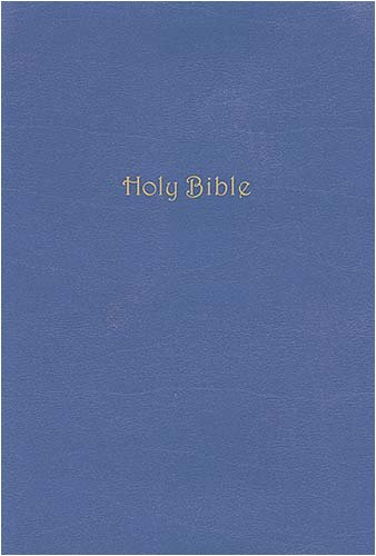 9780718025557: Holy Bible: King James Version, Hydrangea Bonded Leather, Study Bible