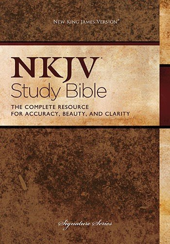 9780718025625: New King James Version Bonded Leather Study Bible