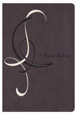 9780718027216: Holy Bible: King James Version (Designer Edition Personal Size Giant Print (Purple & White))