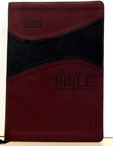 9780718027360: Remnant Study Bible- Leathersoft Burgundy