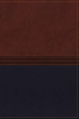 9780718034313: NKJV, The MacArthur Study Bible, Imitation Leather, Brown/Navy: Revised and Updated Edition (Signature)