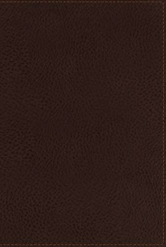 9780718037116: NKJV, End-of-Verse Reference Bible, Personal Size, Giant Print, Imitation Leather, Brown, Red Letter Edition (Classic)