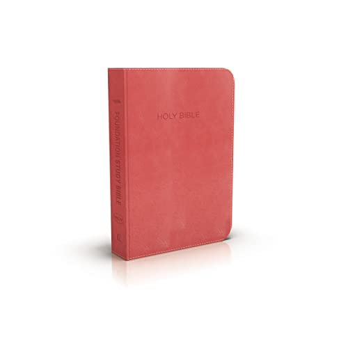 Nkjv, Foundation Study Bible, Leathersoft, Red, Red Letter Edition (Imitation Leather): Thomas ...