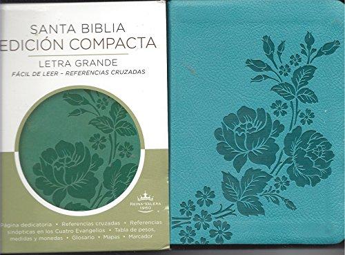 9780718039325: Santa Biblia Edicion Compacta Reina Valera 1960 Texto Turquesa
