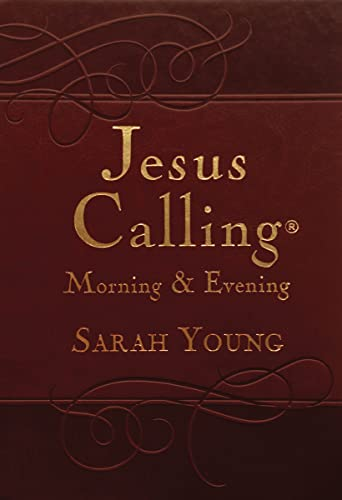 Jesus Calling Morning and Evening Devotional: Young, Sarah