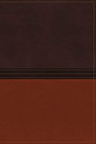 9780718040376: NASB, The MacArthur Study Bible, Imitation Leather, Brown/Orange (Signature)