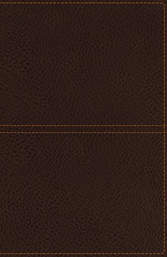 9780718040420: KJV, Reference Bible, Giant Print, Imitation Leather, Brown, Red Letter Edition