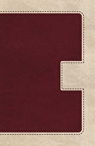 KJV, UltraSlim Bible, Imitation Leather, Burgundy/Cream, Red Letter Edition (Classic): Thomas ...