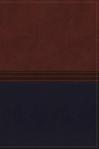 9780718040604: NKJV, The MacArthur Study Bible, Imitation Leather, Brown/Navy, Indexed: Revised and Updated Edition