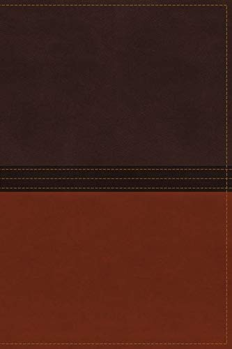 9780718040611: NASB, The MacArthur Study Bible, Imitation Leather, Brown/Orange, Indexed (Signature)