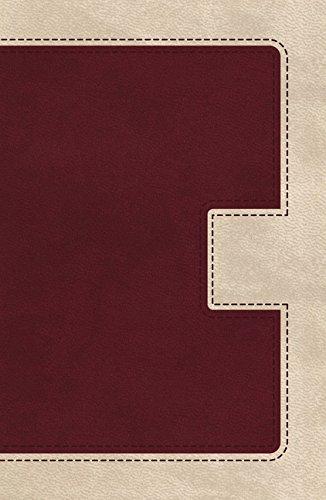 9780718041151: Holy Bible: King James Version, Ivory / Cranberry, Leathersoft, Ultraslim (Classic)
