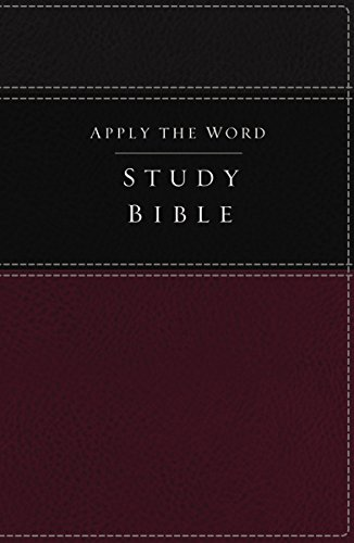 Apply the Word Study Bible-NKJV (Imitation Leather): Thomas Nelson