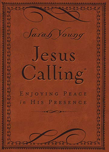 9780718042820: Jesus Calling: Enjoying Peace in His Presence, Brown Cover