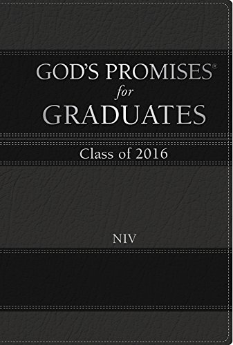 9780718043070: God's Promises for Graduates: Class of 2016 - Black: New International Version