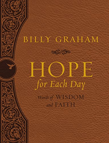 9780718075125: Hope for Each Day Large Deluxe: Words of Wisdom and Faith