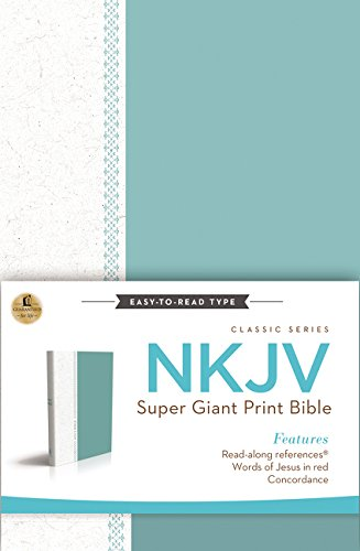 9780718076221: NKJV, Reference Bible, Super Giant Print, Hardcover, Red Letter Edition (Classic)