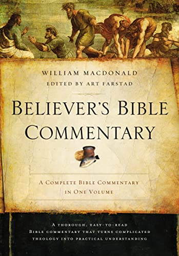 9780718076856: Believer's Bible Commentary: Second Edition