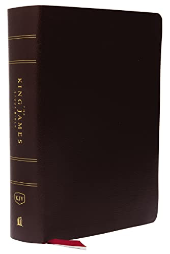 9780718079802: KJV, The King James Study Bible, Bonded Leather, Burgundy, Indexed, Full-Color Edition