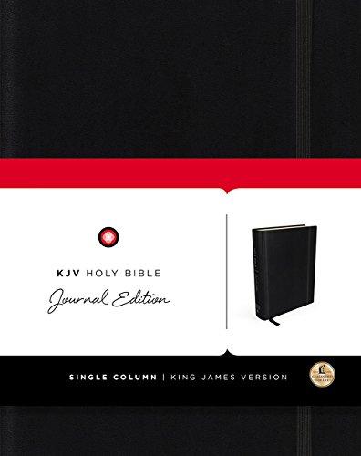 KJV, Holy Bible, Journal Edition, Hardcover, Red: Nelson, Thomas