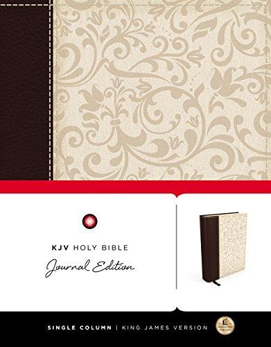 KJV, Holy Bible, Journal Edition, Imitation Leather,: Thomas Nelson