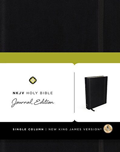 9780718080464: NKJV, Holy Bible, Journal Edition, Hardcover, Red Letter Edition