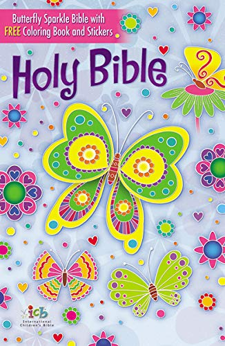 The Butterfly Sparkle Bible: International Children's Bible: Thomas Nelson