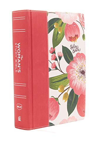 9780718086831: The NKJV, Woman's Study Bible, Cloth over Board, Pink Floral, Full-Color Receiving God's Truth for Balance, Hope, and Transformation (Bible Nkjv)