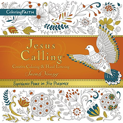 9780718091262: Jesus Calling Adult Coloring Book: Creative Coloring and Hand Lettering (Coloring Faith)