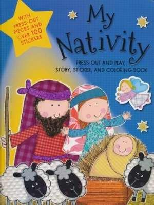 9780718091408: My Nativity Activity Book (Oct)