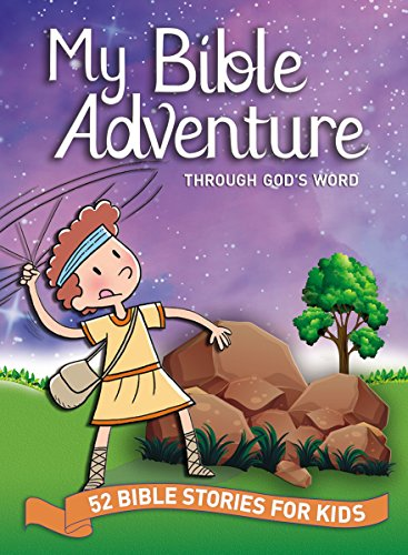 9780718092153: My Bible Adventure Through God's Word: 52 Bible Stories for Kids